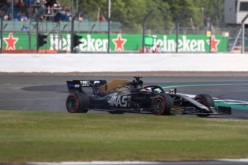 First Lap Silverstone Collision Leaves Grosjean, Magnussen Frustrated - The Checkered Flag