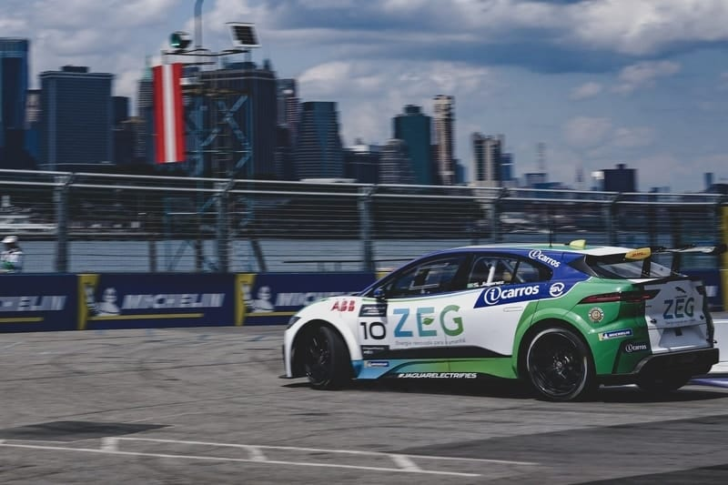 Sergio Jimenez on pole in New York
