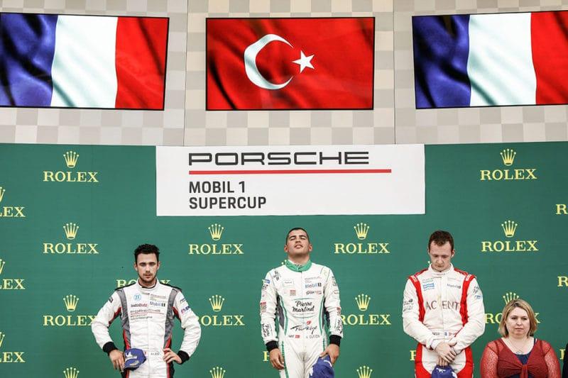 Julien Andlauer - Ayhancan Güven - Florian Latorre - Porsche Mobil 1 Supercup