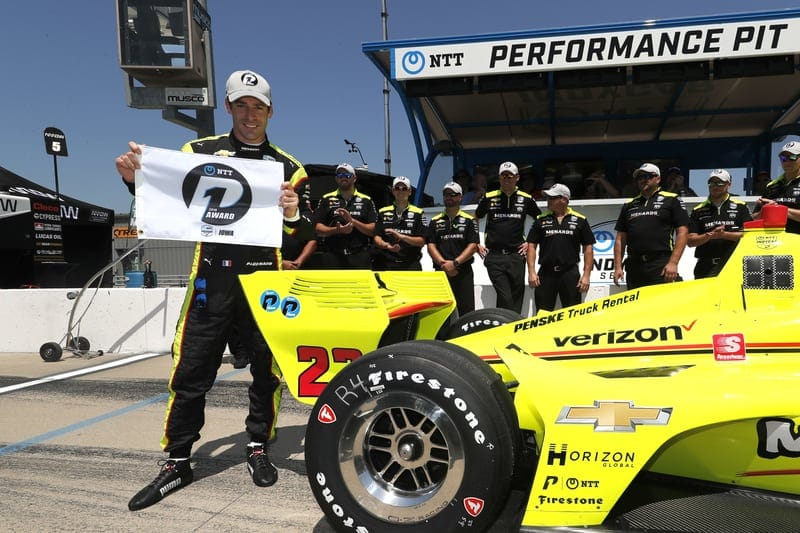 Pagenaud leads Penske 1-2-3 in Iowa qualifying - The Checkered Flag