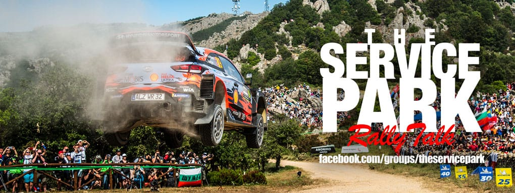 "Find us on Facebook - Search ""The Service Park (Rally Talk)"""