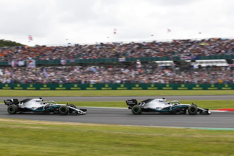 """Mercedes' Toto Wolff: """"It was exciting to see our drivers fight hard on the track"""" - The Checkered Flag"""
