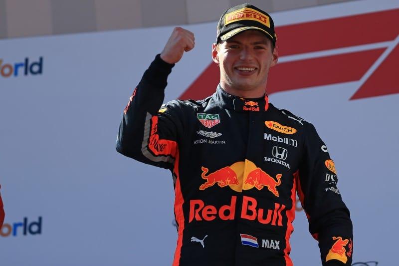 Verstappen - Austria - Podium 2019