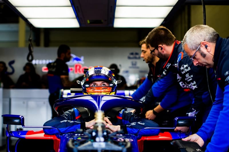 Mixed Qualifying result for Toro Rosso leaves crew with work to do - The Checkered Flag