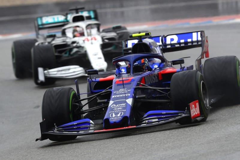 Alexander Albon & Lewis Hamilton - Formula 1 - 2019 German GP
