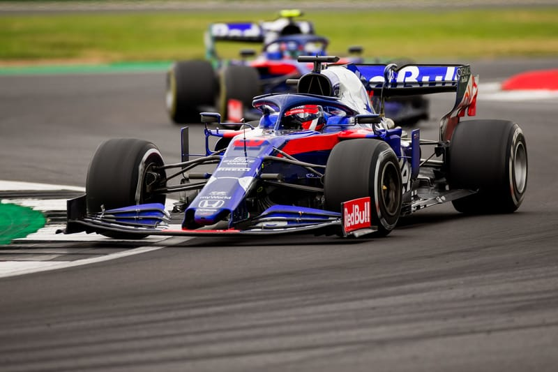 "Kvyat ""Clicked With The Car"", Goes Seventeenth To Ninth At Silverstone - The Checkered Flag"