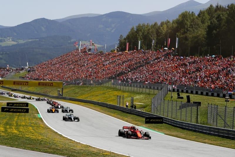 2019 Austrian Grand Prix start - Formula 1