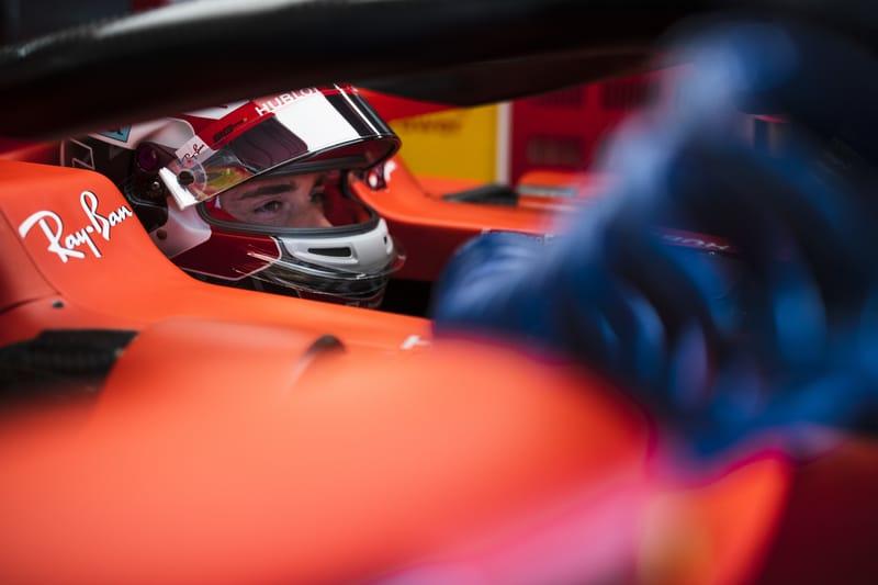 Charles Leclerc - Scuderia Ferrari Mission Winnow at the 2019 Formula 1 German Grand Prix - Hockenheimring - Free Practice 2