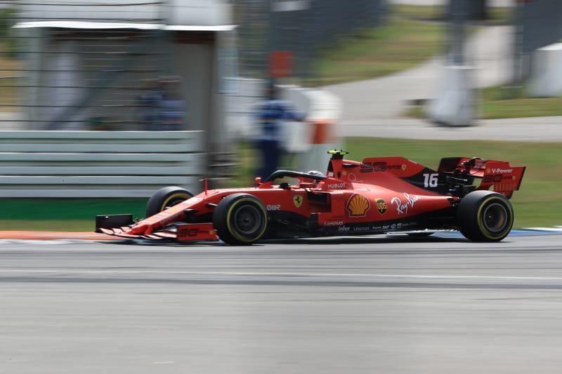 Charles Leclerc - Scuderia Ferrari Mission Winnow at the 2019 Formula 1 German Grand Prix - Hockenheimring - Qualifying