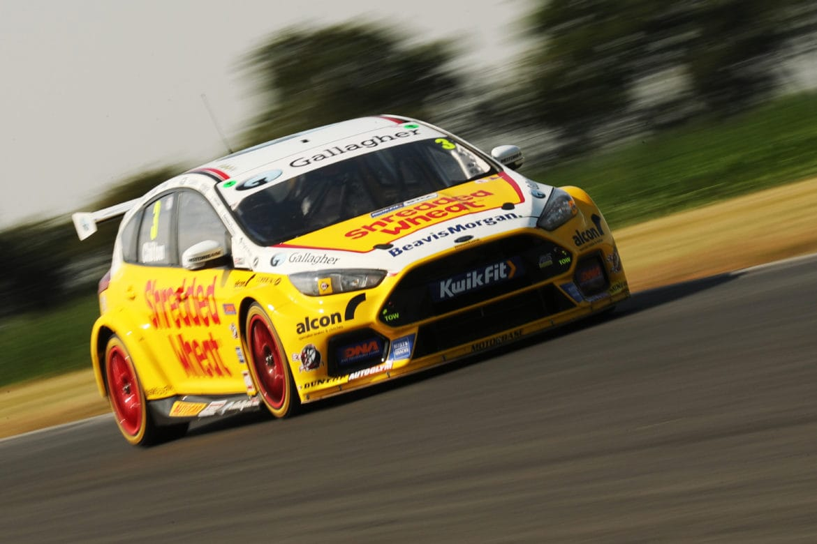 Chilton tops two day BTCC test at Snetterton - The Checkered Flag