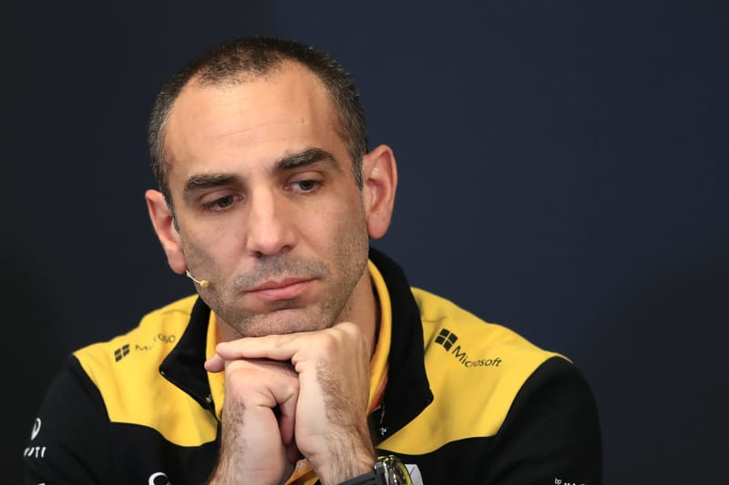 Cyril Abiteboul - Renault F1 Team at the 2019 Formula 1 Monaco Grand Prix - Circuit de Monaco - Pre-Race Press Conference