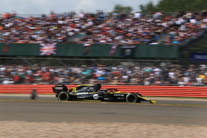 Daniel Ricciardo - Renault F1 Team at the 2019 Formula 1 British Grand Prix - Silverstone - Race