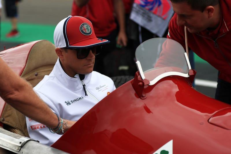 """Every little bit of progress helps"" - Kimi Räikkönen - The Checkered Flag"