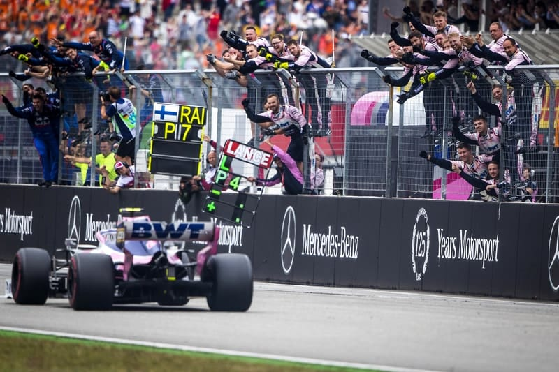 Top four finish in German GP shows value of tenacity - Stroll - The Checkered Flag