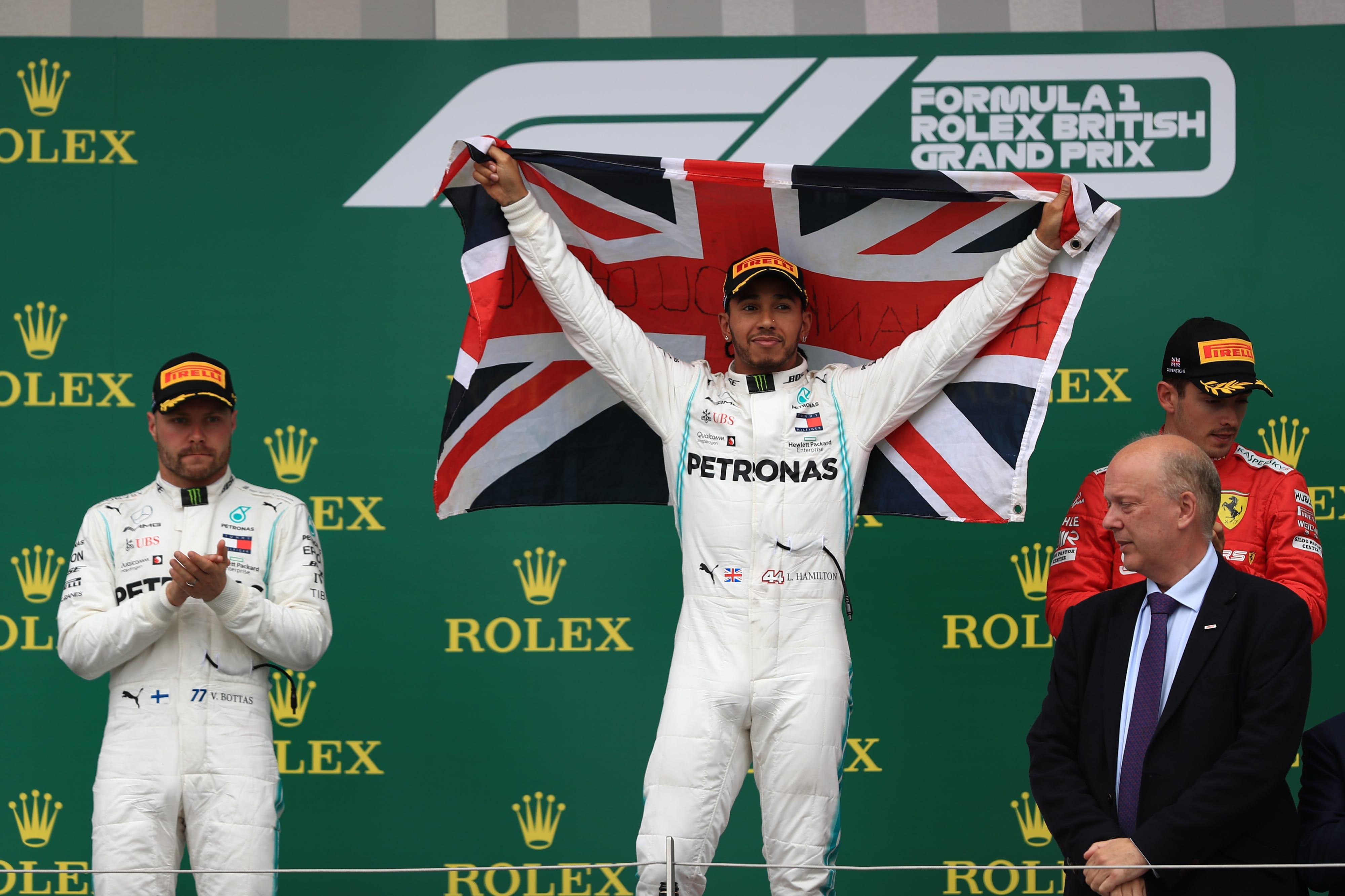 Lewis Hamilton, Valtteri Bottas & Charles Leclerc - Formula 1 - 2019 British GP