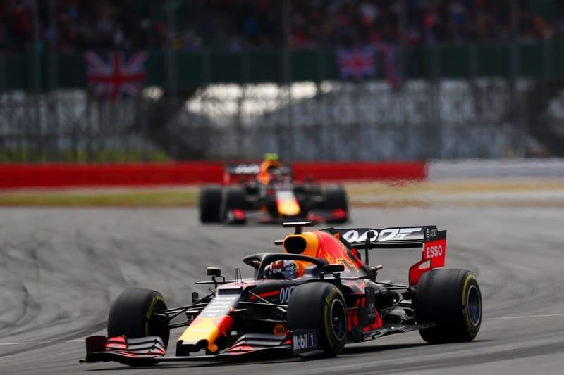 Max Verstappen & Pierre Gasly - Formula 1 - 2019 British GP