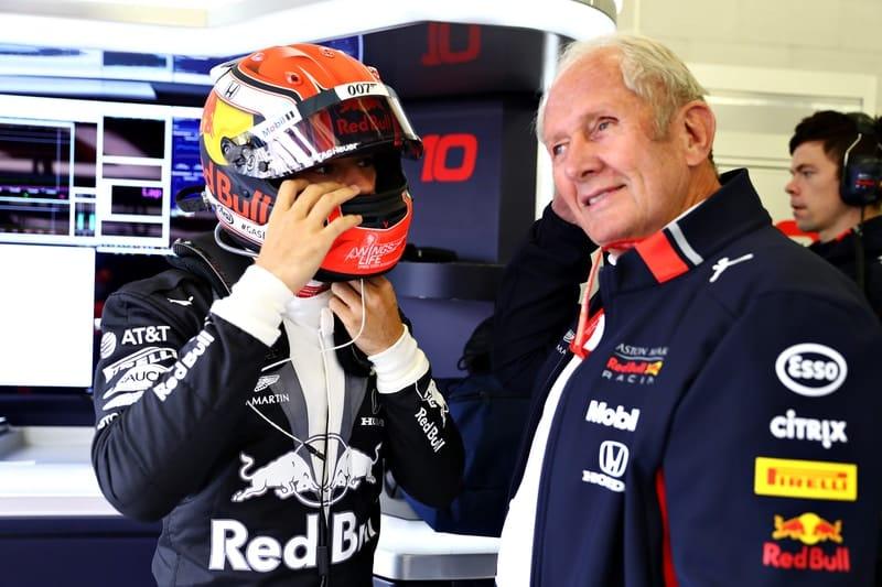 Pierre Gasly & Helmut Marko - Formula 1 - 2019 British GP