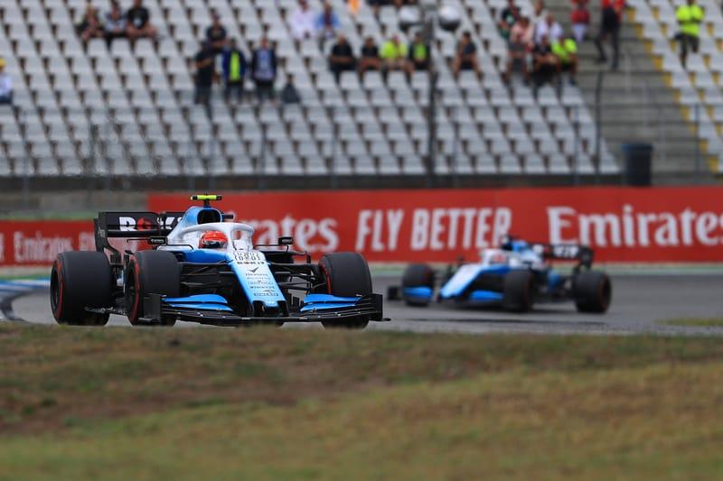 Robert Kubica - ROKiT Williams Racing at the 2019 Formula 1 German Grand Prix - Hockenheimring - Race