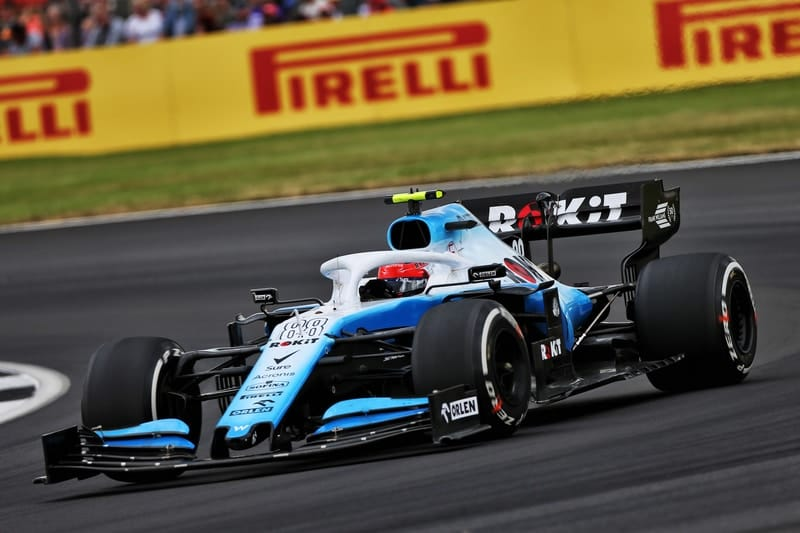 Kubica struggled with inconsistent Williams package in British GP - The Checkered Flag