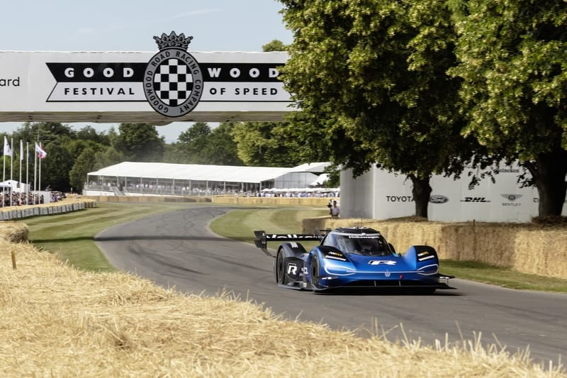 Romain Dumas - Volkswagen ID.R - 2019 Goodwood Festival of Speed