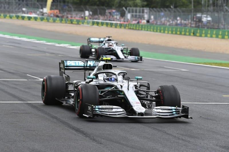 Valtteri Bottas & Lewis Hamilton - Formula 1 - 2019 British GP