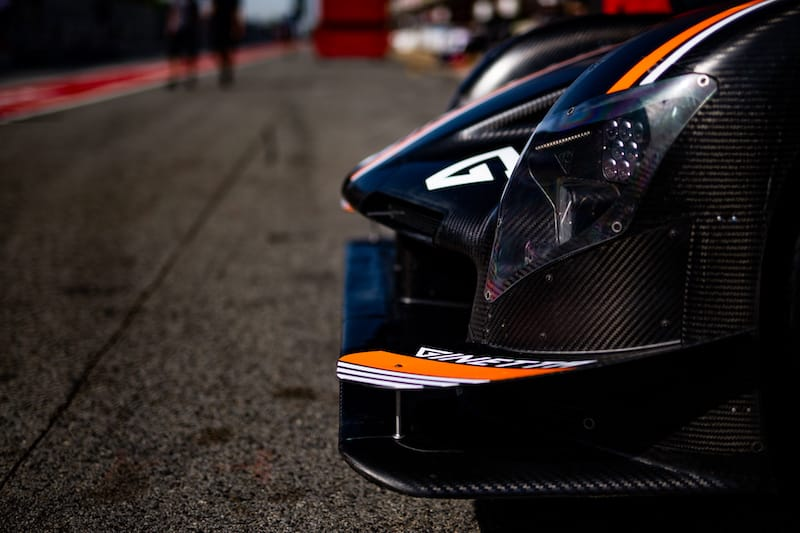 Nose of the Team LNT Ginetta LMP1 car