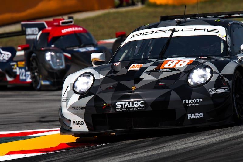 88 Dempsey-Proton on track at Circuit de Barcelona-Catalunya