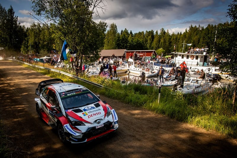 2019 Rally Finland: Tänak Seals Fourth Win of 2019 - The Checkered Flag