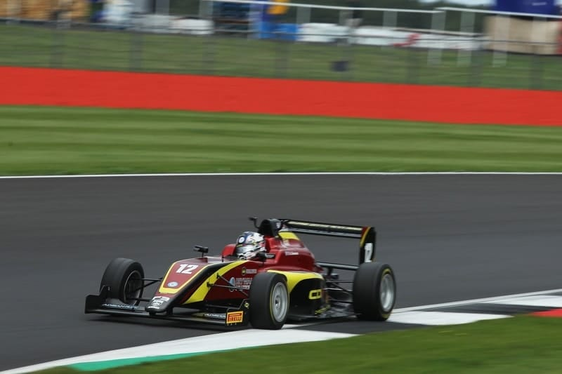 Ayrton Simmons caps off stunning Silverstone weekend with a win - The Checkered Flag