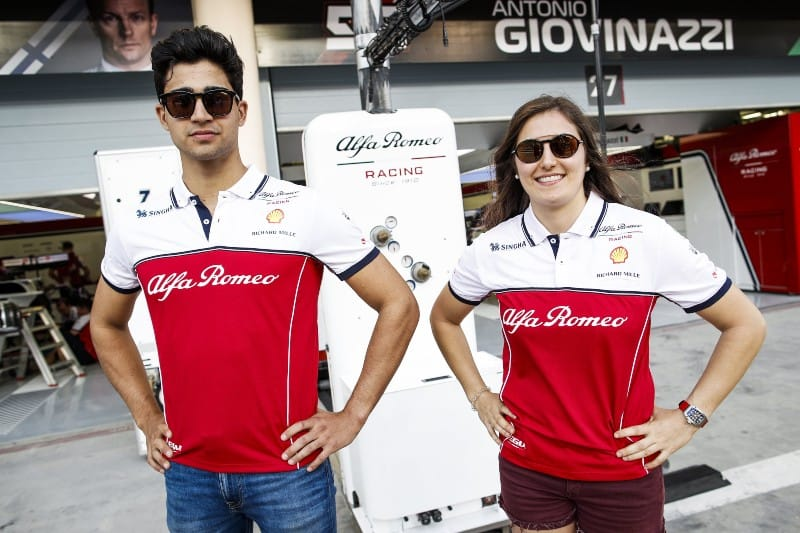 F2 Duo Calderón, Correa To Get Private F1 Test With Alfa Romeo - The Checkered Flag