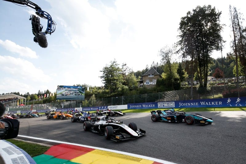 Hubert killed in crash during F2 race at Spa