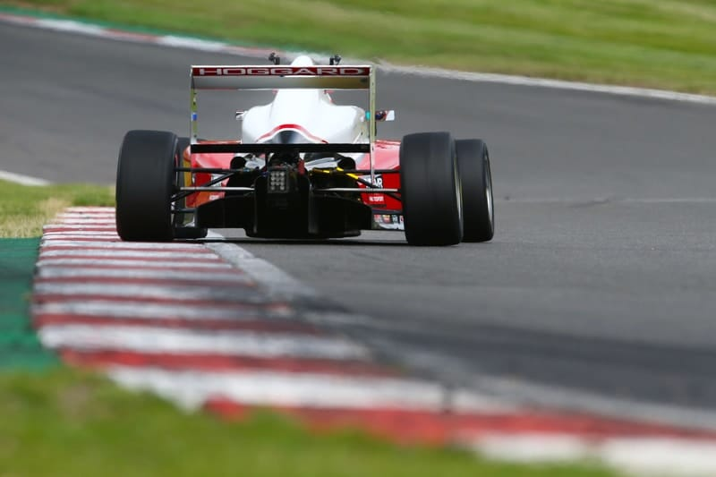 Johnathan Hoggard at Silverstone