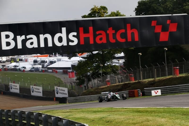Kiern Jewiss wins race three of BRDC British F3 at Brands Hatch GP circuit