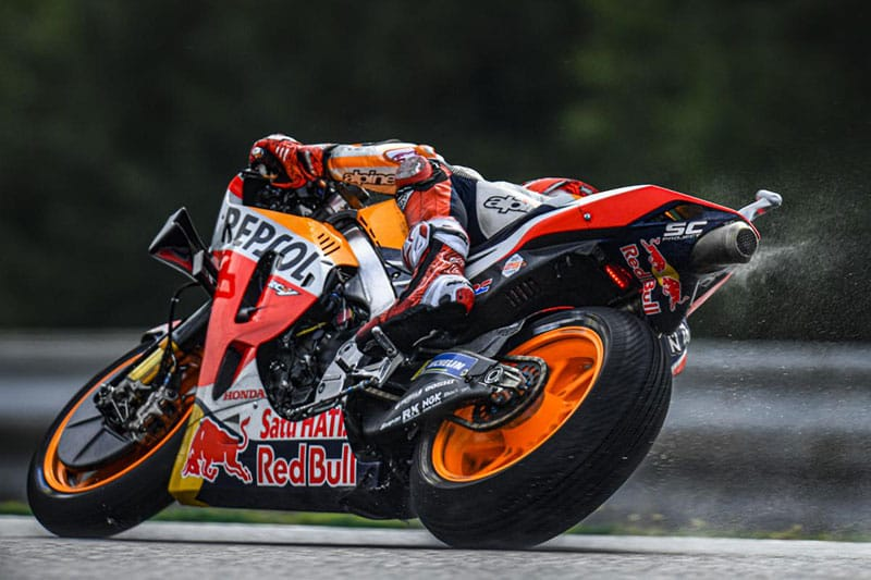 Marc Marquez takes remarkable pole at Brno