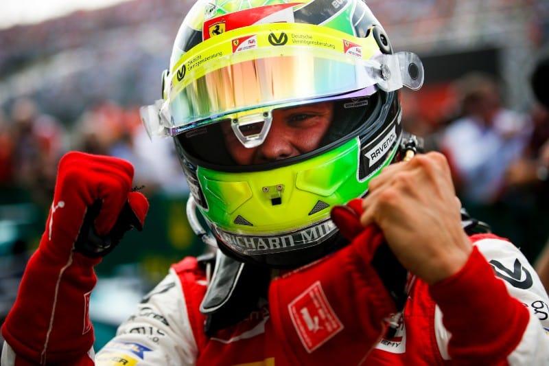 Mick Schumacher - F2 - Prema - Hungary