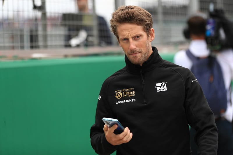 "Grosjean Unconcerned About Formula 1 Future: ""I'm happy with my performance"" - The Checkered Flag"