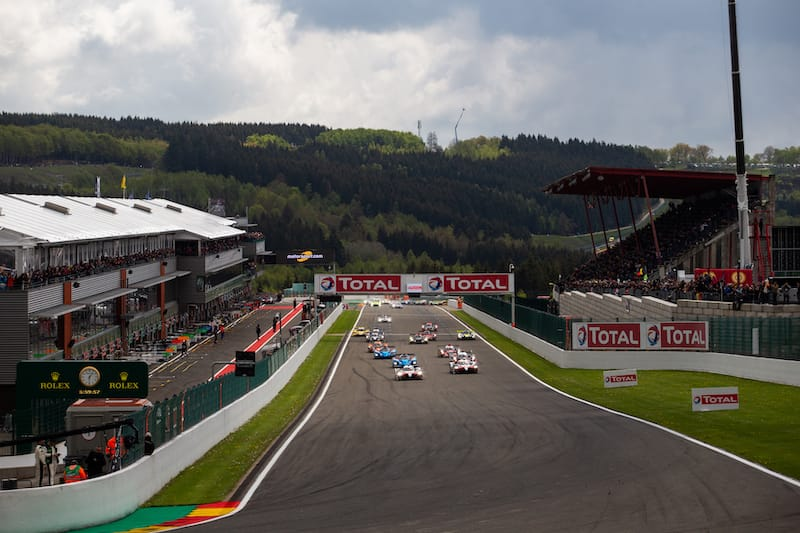 Start of the 2019 6 Hours of Spa-Francorchamps