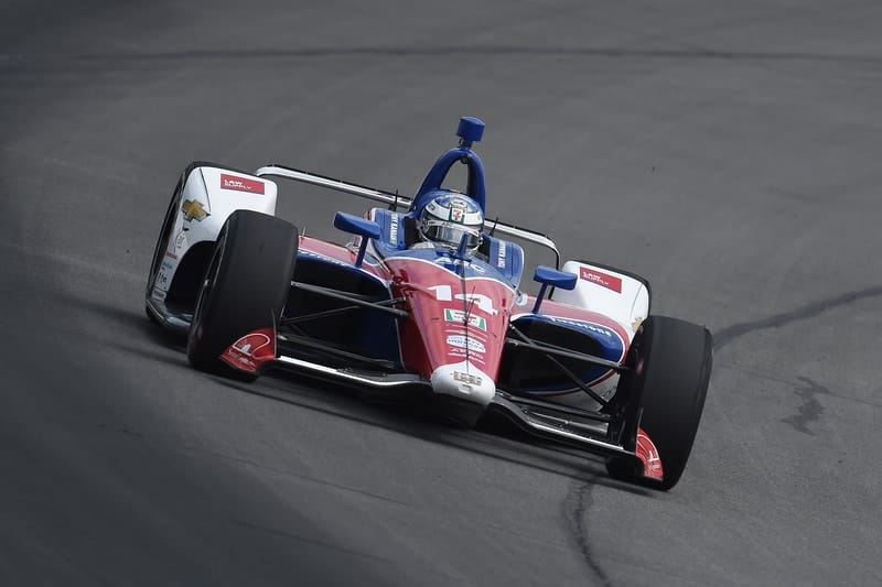 Kanaan quickest in sole Pocono practice session - The Checkered Flag