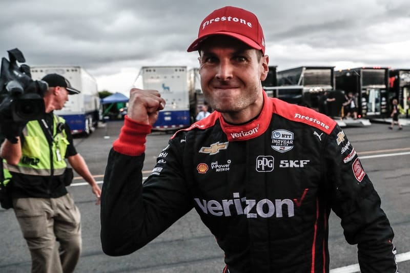 """Power """"absolutely over the moon"""" after first win of the season at Pocono - The Checkered Flag"""