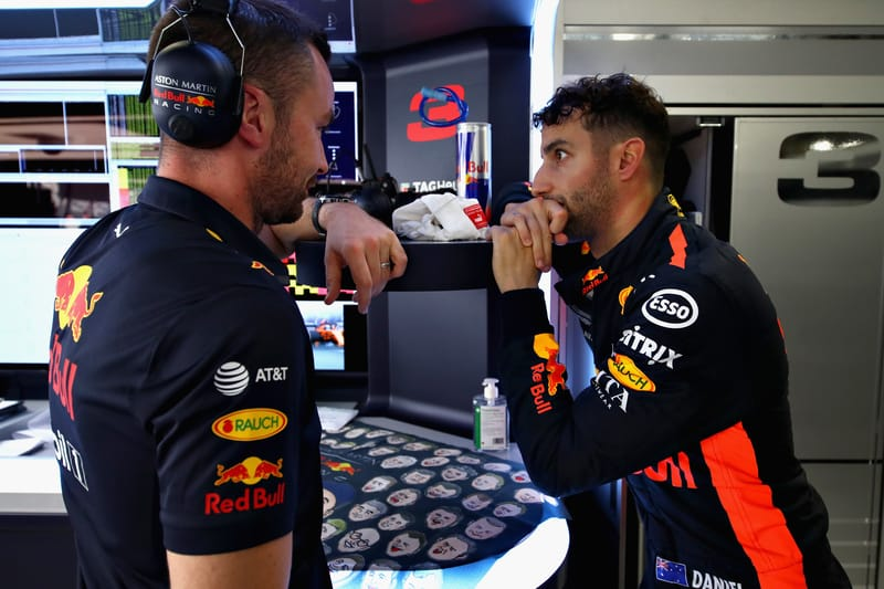 Losing race engineer impacted my Red Bull departure - Daniel Ricciardo - The Checkered Flag