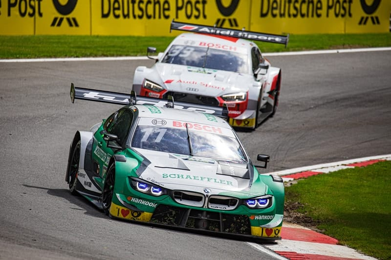 Marco Wittmann & René Rast - DTM - 2019 Brands Hatch