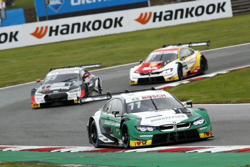 Marco Wittmann, Mike Rockenfeller & Sheldon van der Linde - DTM - 2019 Brands Hatch