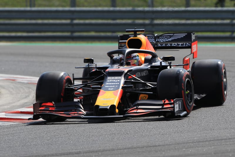 Max Verstappen - Aston Martin Red Bull Racing at the 2019 Formula 1 Hungarian Grand Prix - Hungaroring - Qualifying