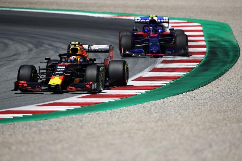 Pierre Gasly & Alexander Albon - Formula 1 - 2019 Austrian GP