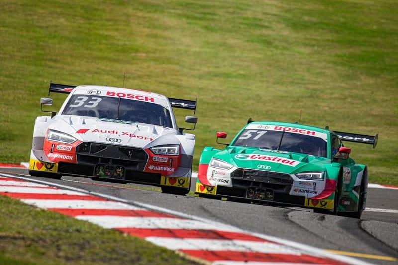 René Rast & Nico Müller - DTM - 2019 Brands Hatch