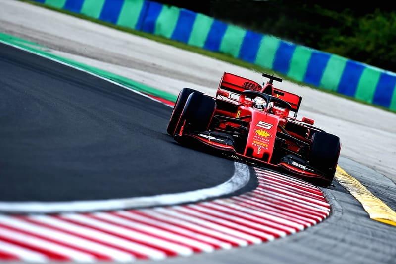 Sebastian Vettel - Formula 1 - 2019 Hungarian GP