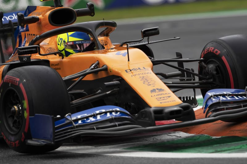 Norris bounces back from late Belgian GP disappointment to score in Monza - The Checkered Flag