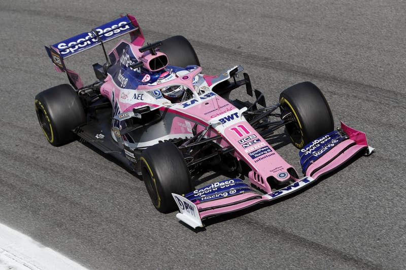"""Sergio Pérez completes """"great recovery"""" to claim seventh at Monza - The Checkered Flag"""
