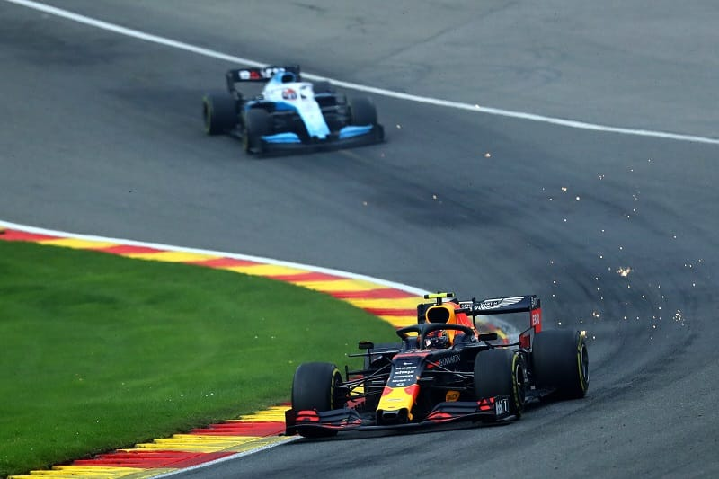 Horner Left Impressed with Albon's First Weekend with Red Bull Racing - The Checkered Flag