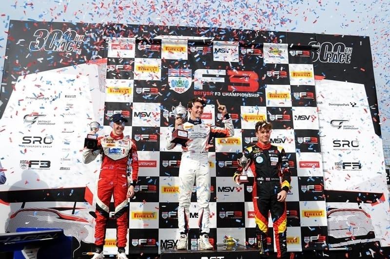 Clement Novalak wins 2019 British F3 title